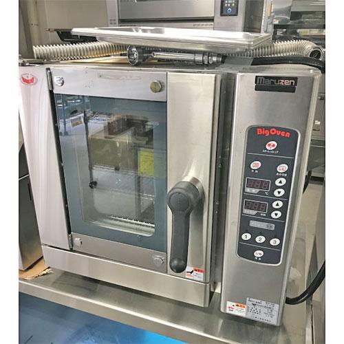 【中古】コンベクションオーブン マルゼン MCOE-064B 幅600×奥行450×高さ540 三相200V 【送料無料】【業務用】