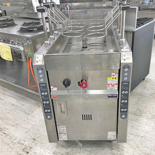 【中古】自動ゆで麺機 マルゼン MRY-C06-H 幅600×奥行750×高さ800 都市ガス 【送料別途見積】【業務用】