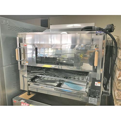 【中古】電気オーブン マルゼン MEK-086U 幅890×奥行600×高さ675 三相200V 【送料無料】【業務用】