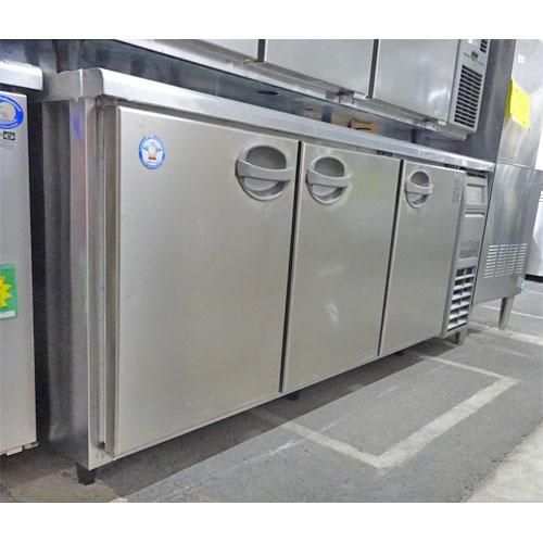 【中古】冷蔵コールドテーブル 福島工業(フクシマ) YRW-180RM2 幅1800×奥行750×高さ800 【送料別途見積】【業務用】
