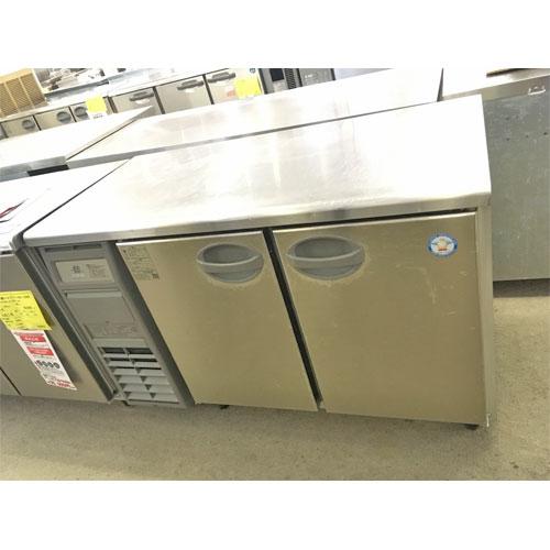 【中古】冷蔵コールドテーブル 福島工業(フクシマ) YRC-120RM2-F 幅1200×奥行600×高さ800 【送料無料】【業務用】