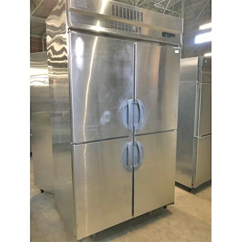【中古】縦型冷蔵庫 福島工業(フクシマ) ULD-40MTA1-F 幅1200×奥行800×高さ2150 三相200V 【送料別途見積】【業務用】