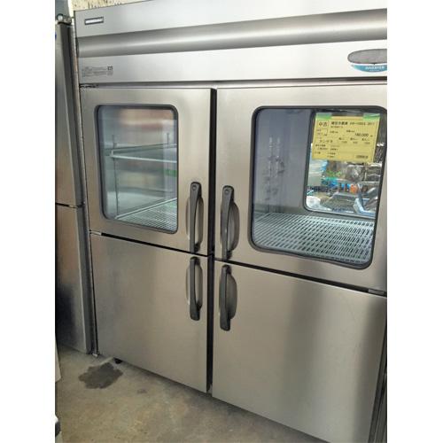 【中古】縦型冷蔵庫 ホシザキ HR-150X3 幅1500×奥行800×高さ1900 三相200V 【送料別途見積】【業務用】