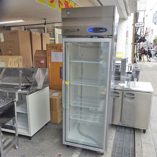 【中古】冷凍ショーケース(スイング) ホシザキ FS-63XT3-1 幅630×奥行650×高さ1890 【送料別途見積】【業務用】
