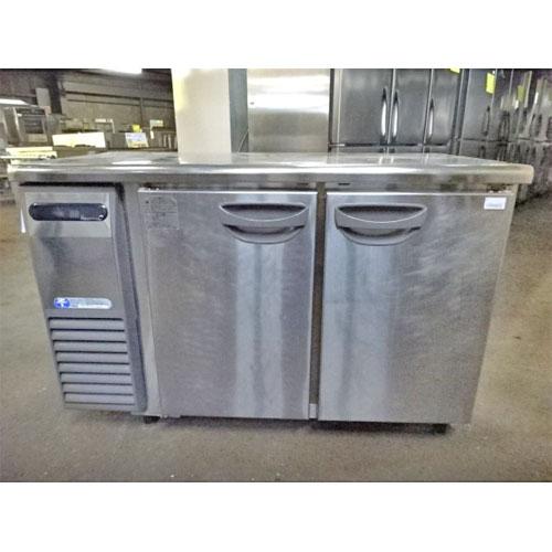 【中古】冷蔵コールドテーブル 福島工業(フクシマ) TRC-40RE1 幅1200×奥行600×高さ800 【送料別途見積】【業務用】