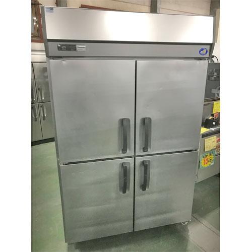 【中古】縦型冷蔵庫 パナソニック(Panasonic) SRR-J1281VSA 幅1200×奥行800×高さ1950 【送料別途見積】【業務用】