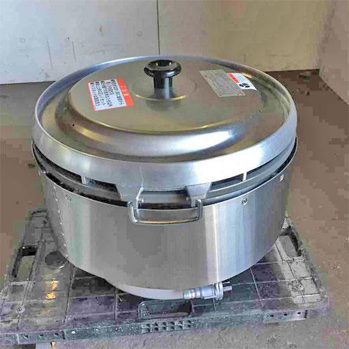 【中古】ガス炊飯器 リンナイ RR-50S2 幅560×奥行510×高さ440 都市ガス 【送料別途見積】【業務用】