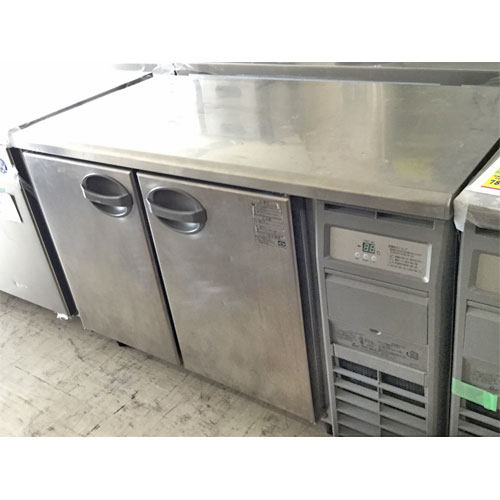 【中古】冷蔵コールドテーブル 福島工業(フクシマ) YRC-120RM2-R 幅1200×奥行600×高さ800 【送料別途見積】【業務用】