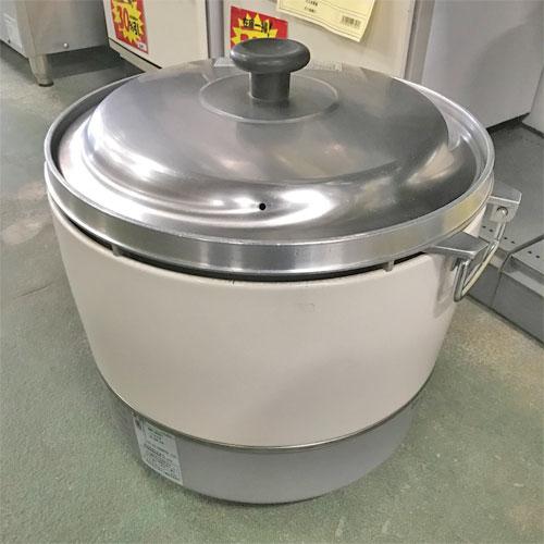 【中古】ガス炊飯器 リンナイ RR-30S1 幅450×奥行421×高さ407 LPG(プロパンガス) 【送料別途見積】【業務用】