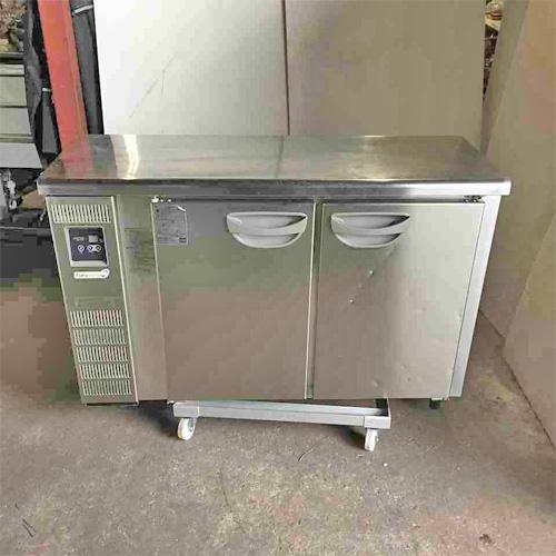 【中古】冷凍コールドテーブル 福島工業(フクシマ) TMU-42FE2 幅1200×奥行450×高さ800 【送料別途見積】【業務用】