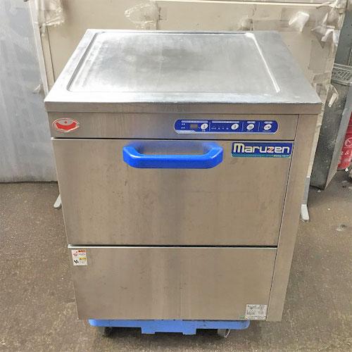 【中古】食器洗浄機 マルゼン MDKLTB7E 幅650×奥行600×高さ800 三相200V 【送料無料】【業務用】