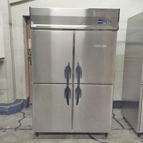 【中古】4ドア 冷蔵庫 大和冷機 413CD-ECV 幅1200×奥行800×高さ1895 三相200V 【送料別途見積】【業務用】