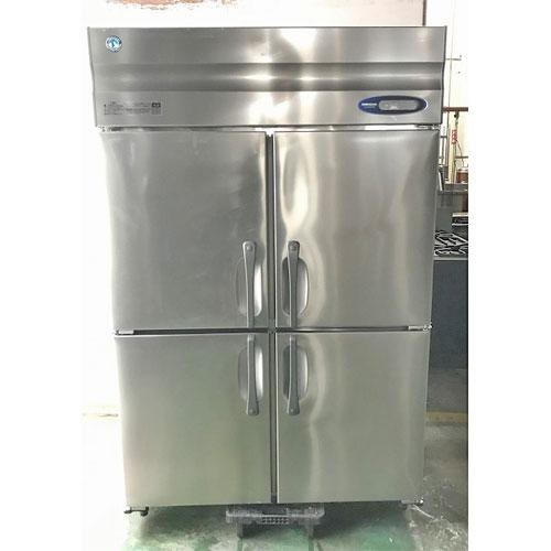【中古】4ドア縦型冷蔵庫 ホシザキ HR-120ZT-ML 幅1200×奥行650×高さ1890 【送料別途見積】【業務用】