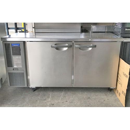 【中古】冷蔵コールドテーブル ホシザキ RT-150SNF 幅1500×奥行600×高さ800 【送料別途見積】【業務用】