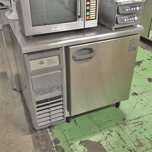 【中古】冷蔵コールドテーブル 福島工業(フクシマ) YRC-090RM 幅900×奥行600×高さ820 【送料無料】【業務用】
