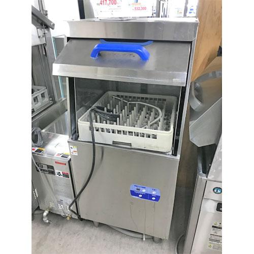 【中古】食器洗浄機 マルゼン MDRTB6E 幅600×奥行600×高さ1375 三相200V 【送料無料】【業務用】