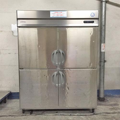 【中古】4ドア 冷凍冷蔵庫 フクシマガリレイ(福島工業) URN-151PM6 幅1490×奥行650×高さ1940 【送料別途見積】【業務用】