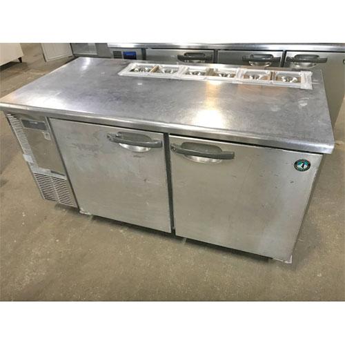 【中古】冷蔵サンドイッチコールドテーブル ホシザキ RT-150SDE-ML 幅1500×奥行750×高さ800 【送料無料】【業務用】
