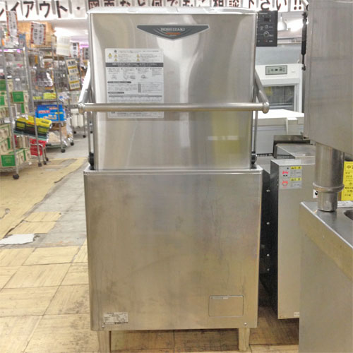 【中古】食器洗浄機 ホシザキ JWE-580UA 幅640×奥行655×高さ1432 三相200V 60Hz専用 【送料別途見積】【業務用】
