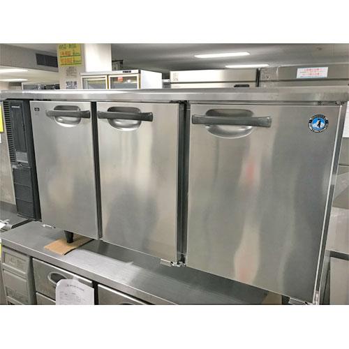 【中古】冷蔵コールドテーブル ホシザキ RT-150PTE1 幅1500×奥行450×高さ800 【送料無料】【業務用】