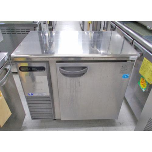 【中古】冷蔵コールドテーブル 福島工業(フクシマ) TRC-30RM1 幅900×奥行600×高さ815 【送料別途見積】【業務用】