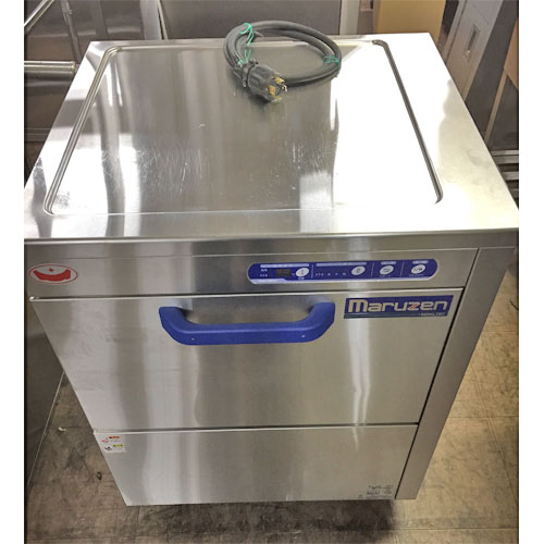 【中古】食器洗浄機 マルゼン KLTB-7 幅650×奥行600×高さ800 三相200V 【送料無料】【業務用】