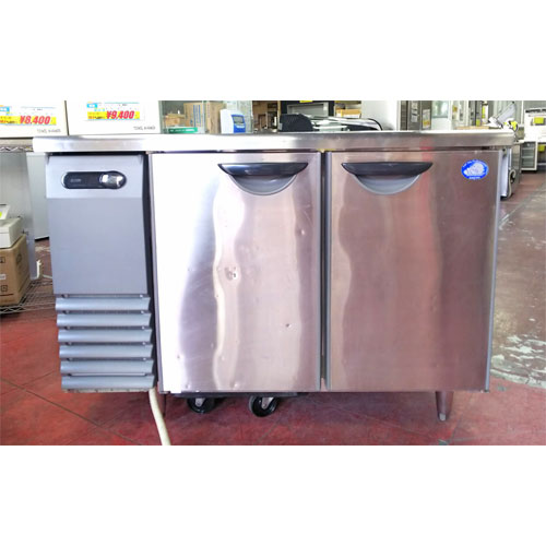 【中古】冷蔵コールドテーブル サンヨー SUR-F1271SA 幅1200×奥行750×高さ800 【送料無料】【業務用】