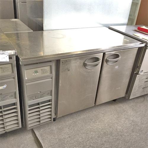 【中古】冷蔵コールドテーブル 福島工業(フクシマ) YRC-120RM2 幅1200×奥行645×高さ800 【送料別途見積】【業務用】