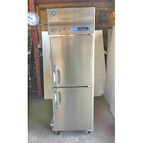 【中古】縦型2ドア冷凍庫 ホシザキ HF-63Z 幅620×奥行800×高さ1890 【送料無料】【業務用】
