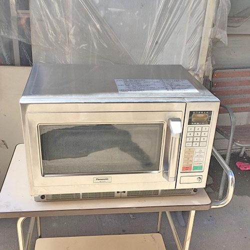 【中古】オーブン機能付き電子レンジ パナソニック(Panasonic) NE-CV70(R) 幅605×奥行530×高さ383 50Hz専用 【送料別途見積】【業務用】