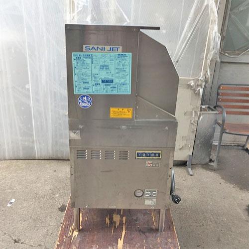 【中古】食器洗浄機 日本洗浄機 SD64EA-MT 幅600×奥行600×高さ1260 三相200V 50Hz専用 【送料別途見積】【業務用】