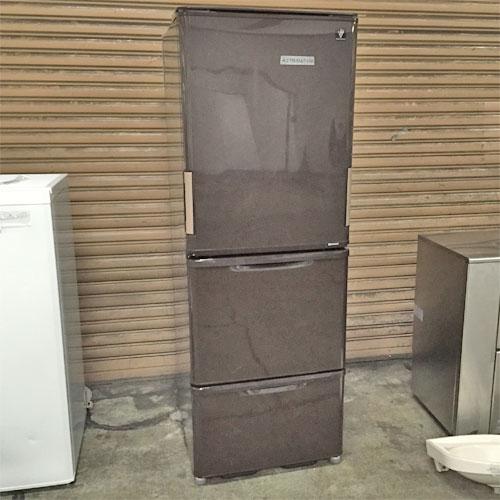 【中古】家庭用 冷蔵庫 シャープ SL-PW35C-T 幅600×奥行660×高さ1685 【送料別途見積】【業務用】