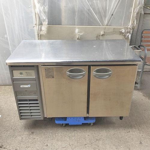【中古】冷蔵コールドテーブル 福島工業(フクシマ) YRC-120RM-F 幅1200×奥行600×高さ800 【送料別途見積】【業務用】