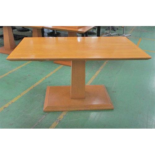 【中古】木製テーブル 幅1400×奥行800×高さ720 【送料別途見積】【業務用】