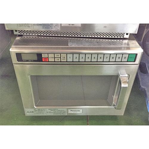 【中古】電子レンジ パナソニック(Panasonic) NE-1801 幅425×奥行475×高さ340 【送料別途見積】【業務用】