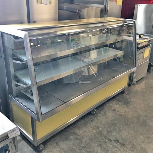 【中古】冷蔵ショーケース 大穂製作所 OHGU-ART-1800 幅1800×奥行600×高さ1150 【送料別途見積】【業務用】