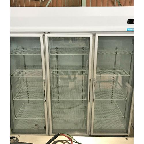 【中古】冷蔵リーチインショーケース 大和冷機 603YAKP-EC 幅1800×奥行650×高さ1900 三相200V 【送料別途見積】【業務用】