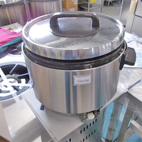 【中古】ガス炊飯器 パロマ PR-360SS 幅455×奥行381×高さ372 都市ガス 【送料別途見積】【業務用】
