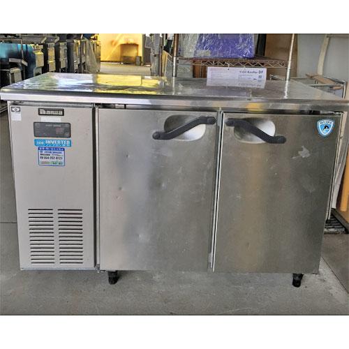 【中古】冷蔵コールドテーブル 大和冷機 4061CD-NP 幅1200×奥行600×高さ800 【送料無料】【業務用】