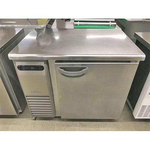 【中古】冷蔵コールドテーブル 福島工業(フクシマ) TRC-30RM 幅900×奥行600×高さ800 【送料別途見積】【業務用】