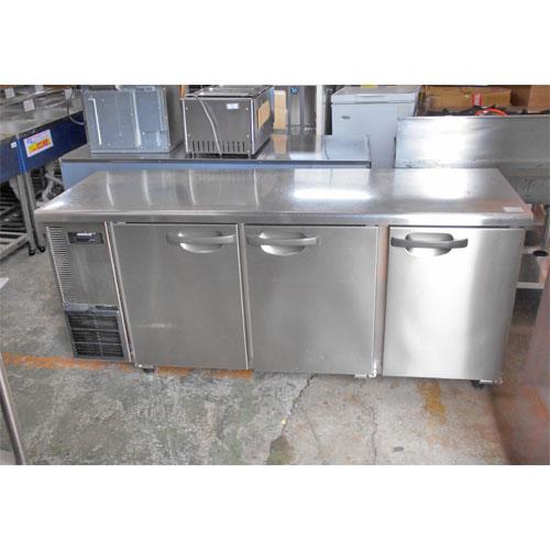 【中古】冷蔵コールドテーブル ホシザキ RT-180SNE 幅1800×奥行600×高さ800 【送料別途見積】【業務用】