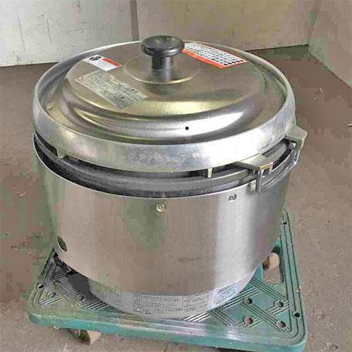 【中古】3升ガス炊飯器 リンナイ RR-30S2 幅466×奥行438×高さ424 都市ガス 【送料無料】【業務用】
