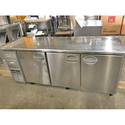【中古】冷蔵コールドテーブル 福島工業(フクシマ) YRC-181PE1 幅1800×奥行600×高さ800 【送料無料】【業務用】