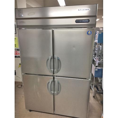 【中古】縦型冷凍冷蔵庫 北沢産業 KARD-122PM 幅1200×奥行800×高さ1900 【送料別途見積】【業務用】