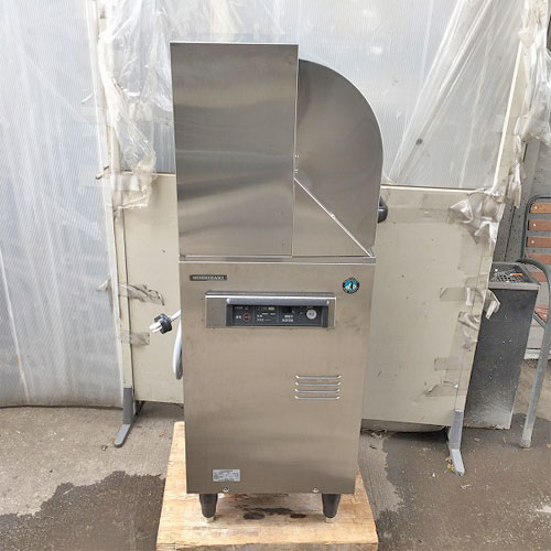 【中古】食器洗浄機 ホシザキ JW-350RUF3-R 幅450×奥行450×高さ1265 三相200V 50Hz専用 【送料別途見積】【業務用】