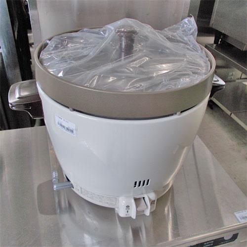 【中古】ガス炊飯器 リンナイ RR-20SF2 幅348×奥行431×高さ331 都市ガス 【送料別途見積】【未使用品】【業務用】