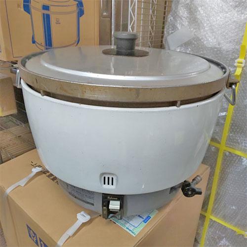 【中古】ガス炊飯器 パロマ PR-81DSS 幅506×奥行470×高さ414 都市ガス 【送料無料】【業務用】