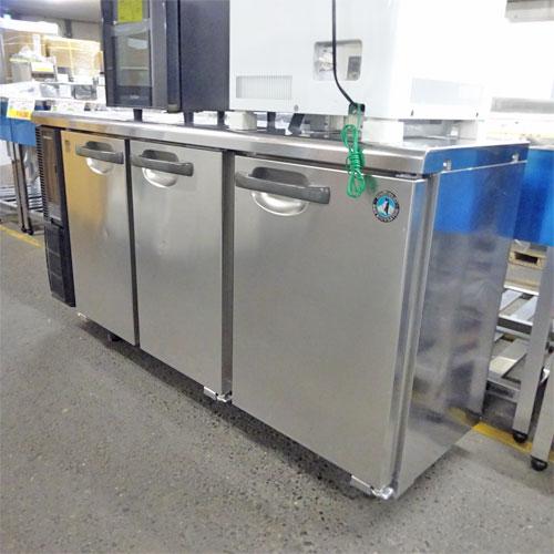 【中古】冷蔵コールドテーブル ホシザキ RT-150PTE1 幅1500×奥行450×高さ800 【送料別途見積】【業務用】