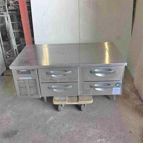 【中古】冷蔵ドロワーコールドテーブル ホシザキ RTL-120DDC 幅1200×奥行750×高さ570 【送料別途見積】【業務用】