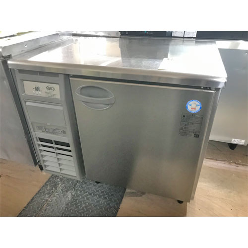 【中古】冷蔵コールドテーブル 福島工業(フクシマ) AYC-090RM 幅900×奥行600×高さ800 【送料別途見積】【業務用】